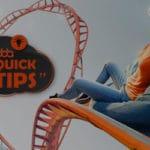 digital marketing tips rollercoaster